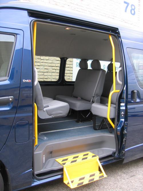 Mobility Engineering Van Steps